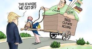 A Beast Of Burden - A.F. Branco politicla cartoon