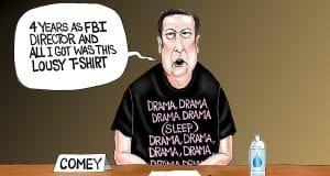 Disgruntled - A.F. Branco political cartoon