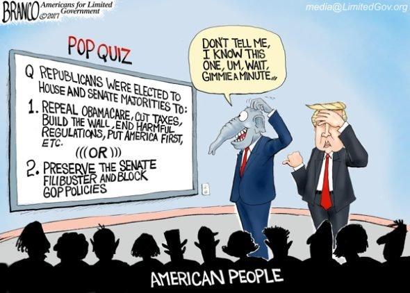 Image result for branco cartoons big government republicans