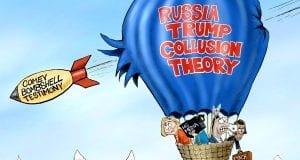 Hot Air Disaster - A.F. Branco political cartoon