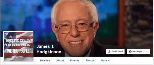 James T. Hodgkinson facebook header