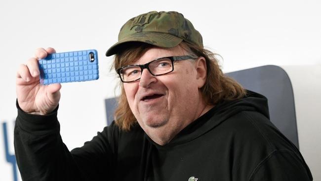 Michael Moore selfie