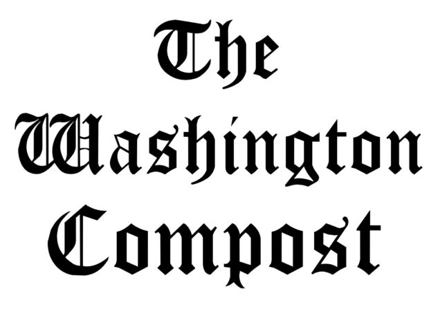 Washington Post parody logo