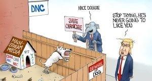 Democrats' Best Friend - A.F. Branco political cartoon