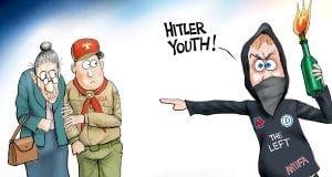 Hiler Youth A.F. Branco political cartoon