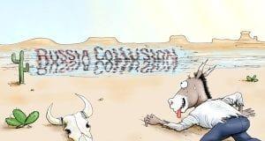 Illusive Dreams - A.F. Branco political cartoon