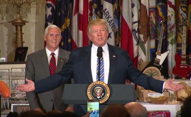 Photo of Trump, Pence Participate in 'Made in America' Showcase [video and transcript]