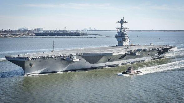 USS Gerald R. Ford Aricraft Carrier