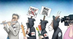 Follow the Leader - A.F. Branco Cartoon