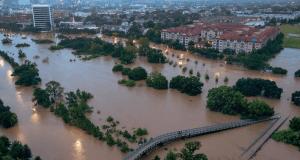 Houston flooding from Harvey 8-27-17 0700