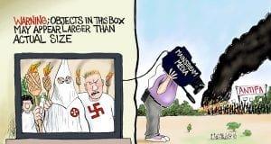 Larger Than Life - A.F. Branco Cartoon