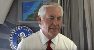 Rex Tillerson press briefing 8-9-17