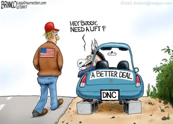 Road to Prosperity - A.F. Branco Cartoon