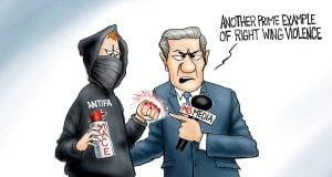 Sucker Punch - A.F. Branco Cartoon