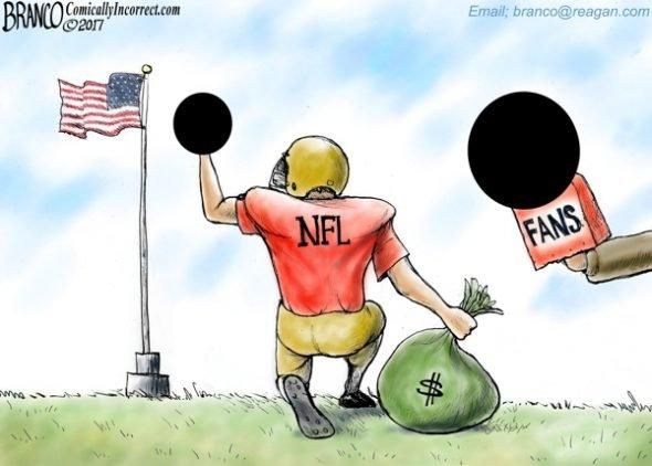 Flipping Out - A.F. Branco Cartoon