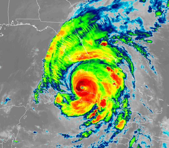 Irma GOES-16 9-10 0245z
