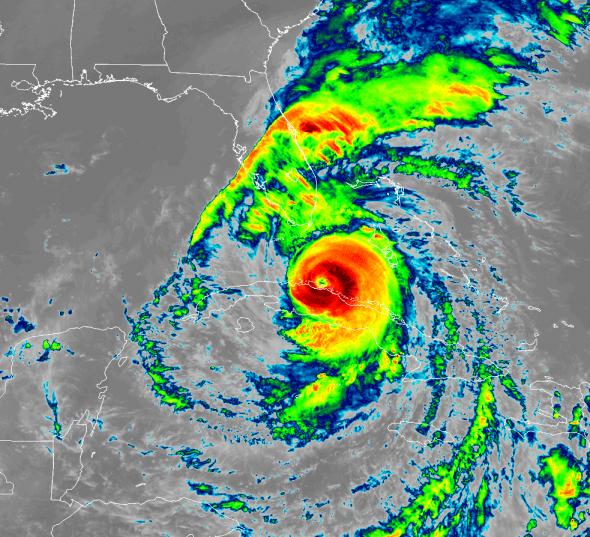 Irma GOES-16 9-9 1800z
