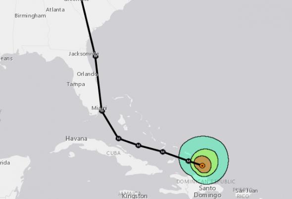 Irma precise track 9-7 1400