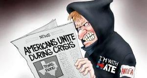 Up the Anti - A.F. Branco Cartoon