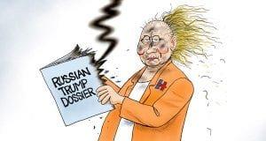 A Hot Mess - A.F. Branco Cartoon