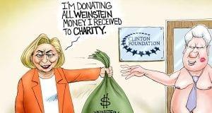 Blood Money - A.F. Branco Cartoon