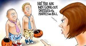 Hollyween - A.F. Branco Cartoon