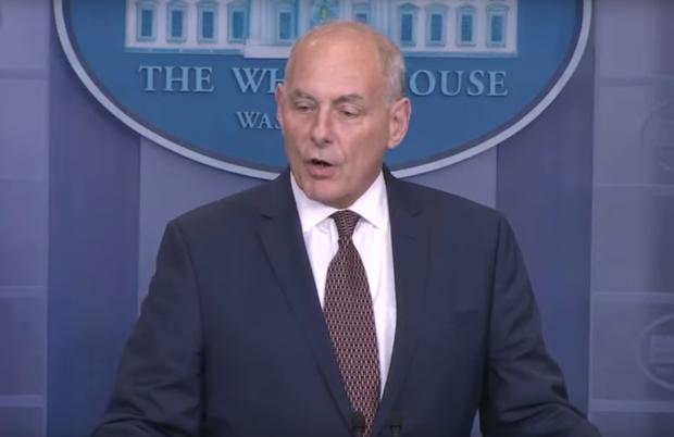 John Kelly White House Press Briefing 10-12-17