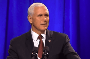 Mike Pence In Defense of Christians Summit 2 10-25-17