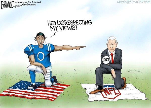 Pence Offence - A.F. Branco Cartoon