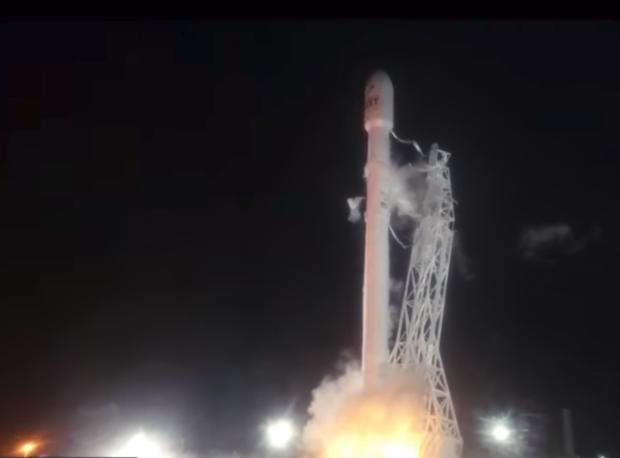 SpaceX launch Iridium-3 10-9-17