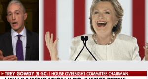 Trey Gowdy on Hillary Clinton