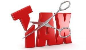 Tax cuts in tax reform