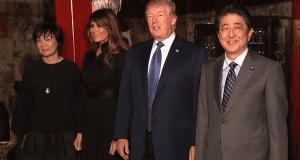 Donald Trump Melania Trump Shinzo Abe Akie Abe 2017 Japan trip - 2