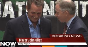 John Giles and Jeff Flake hot mic