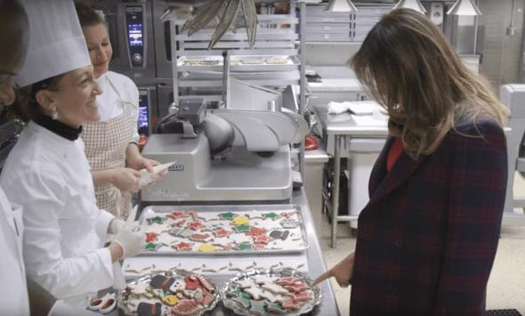 Melania Trump Christmas Cookies