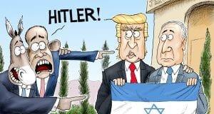 Der Fuhrer Card - A.F. Branco political cartoon