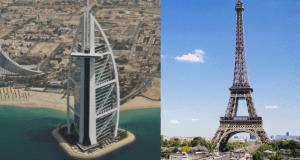 Most popular luxury destinations 2017