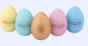 White House 2018 Easter Egg Roll commemerative eggs