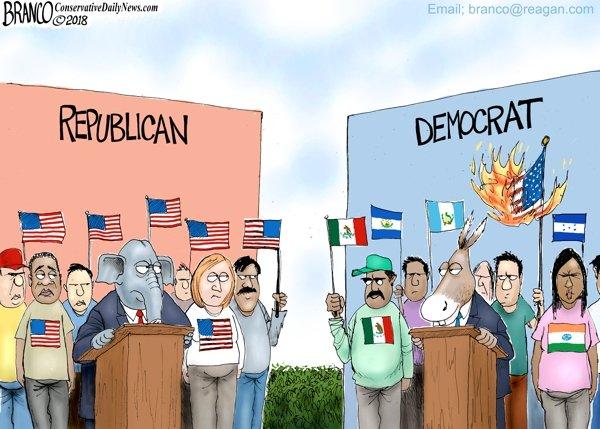 Democrats choose illegal aliens over Americans
