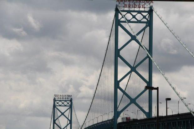 Ambassador Bridge - Detroit Michigan