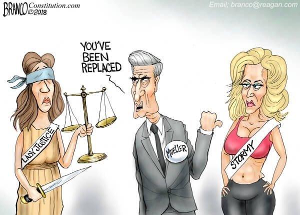 Photo of Mueller gone wild – A.F. Branco Cartoon