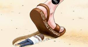 Roseanne Barred - A.F. Branco political cartoon