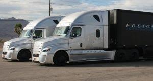 semi trucks freight