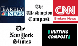 Media Bias - NY Times - NBC News - CNN - Washington Post - Huffington Post