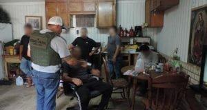 Border Patrol stash house illegal aliens