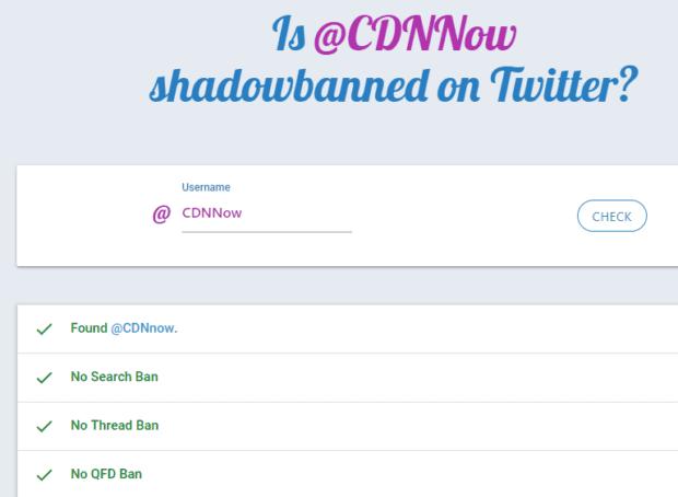 CDNNow shadowban