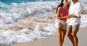 Honeymoon travel vacation