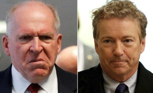 John Brennan and Rand Paul