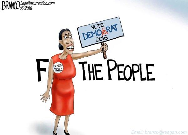 Reds - A.F. Branco political cartoon