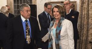 Tony Podesta and Nancy Pelosi